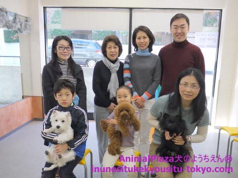 子犬のしつけ教室「犬のようちえん駒沢公園教室」授業参観
