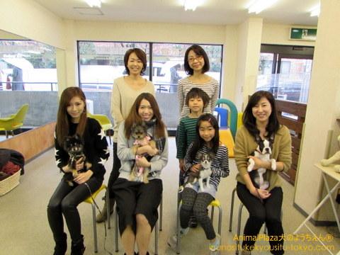 子犬のしつけ教室「犬のようちえん駒沢公園教室」体調管理